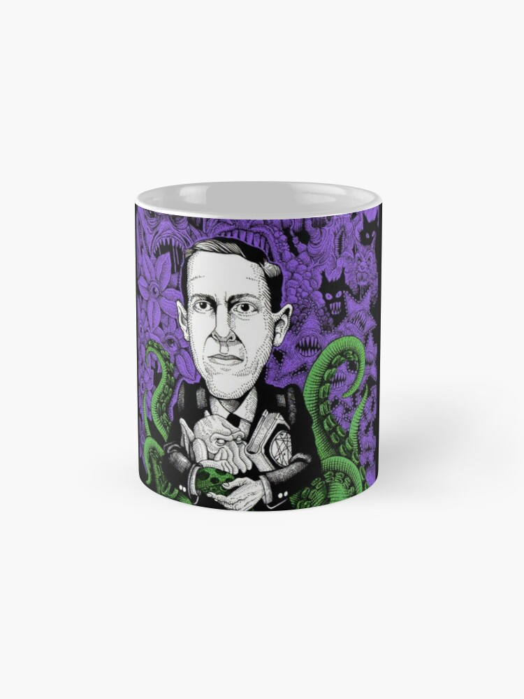 Alternate view of Lovecraft (Color) Mug