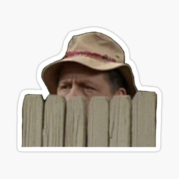 Mr. Wilson Peering Sticker