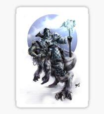 Frost Bearer (For Prints) Sticker
