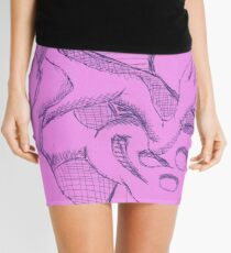 discovering mortality Mini Skirt