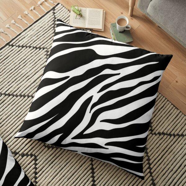 Zebra-Druck Bodenkissen