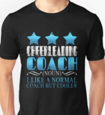 Cool Cheerleading Coach Definition Unisex T-Shirt
