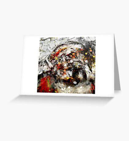 APOCALYPSE DREAMS-MEDICINE WHEEL  Greeting Card