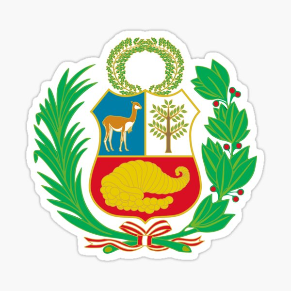 National Emblem of Peru Sticker