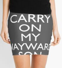 SUPERNATURAL UNOFFICIAL THEME SONG SAM AND DEAN WINCHESTER Mini Skirt