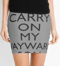 SUPERNATURAL SAM AND DEAN WINCHESTER Mini Skirt