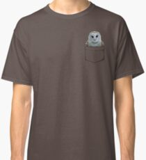 Barn Owl in my Pocket Classic T-Shirt