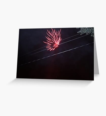 FIREWORKS #2 Greeting Card