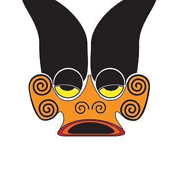 Tiki Mask by Giles