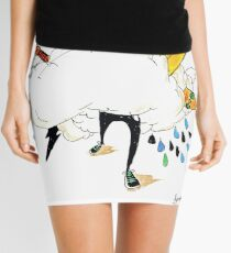 ED IN THE CLOUDS Mini Skirt