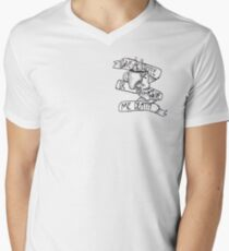 Give Me Coffee or Give Me Death Men's V-Neck T-Shirt