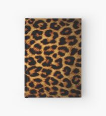 Leopard Print Hardcover Journal