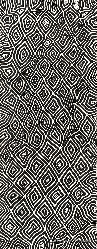 Pen And Ink Design by Catherine  Howell