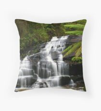 Among the Ferns Throw Pillow