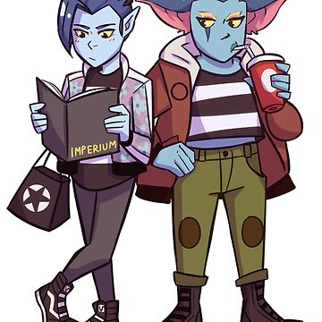 Zethrid and Acxa by Rebelspore
