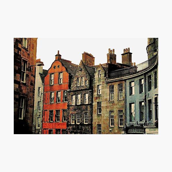 Edinburgh skyline Photographic Print