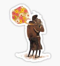 Speak Happy Thoughts. Sticker