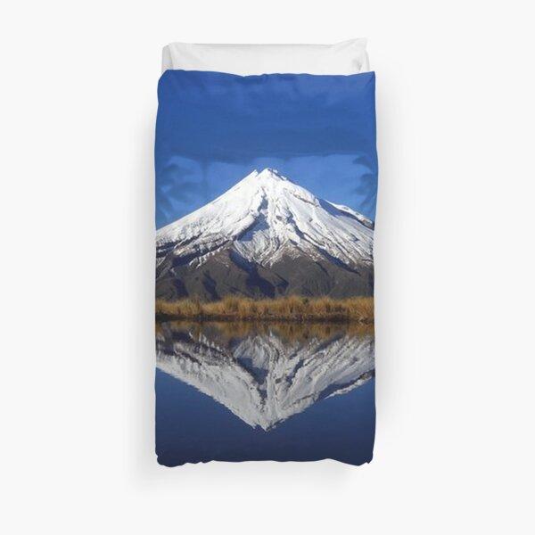 Mount Taranaki Duvet Cover