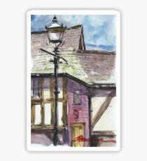 Lamp posts of Shrewsbury Sticker
