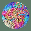 Abstract Color Splash D by blackhalt