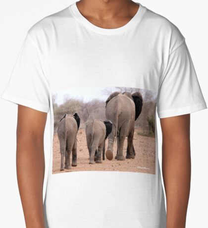 THE 2016 DROUGHT AND THE AFRICAN ELEPHANT - DESPERATELY SEEKING FOOD Long T-Shirt