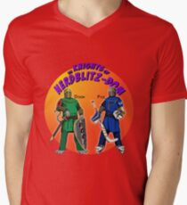 Knights Of NerdBlitzdom - by @LookingForEight Men's V-Neck T-Shirt