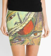 haunted by memories Mini Skirt