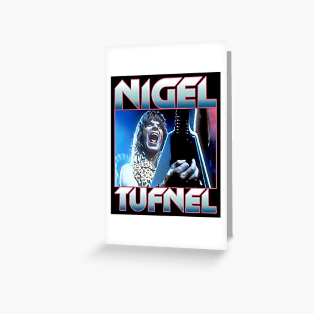Nigel Tufnel Tarjetas de felicitación