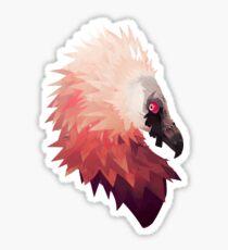 Bearded Vulture  Sticker