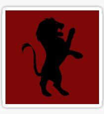 Brave Lion Sticker
