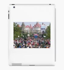 follow the crowd iPad Case/Skin