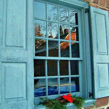 Manor In The Window by amberwayne52