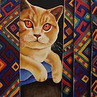 Behind the Curtain by Anni Morris