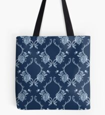 Elegance Seamless pattern with flowers ornament Tote Bag