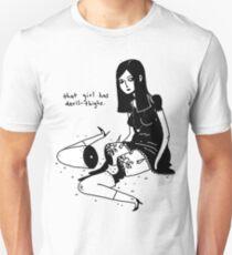 Devil-Thighs. Unisex T-Shirt