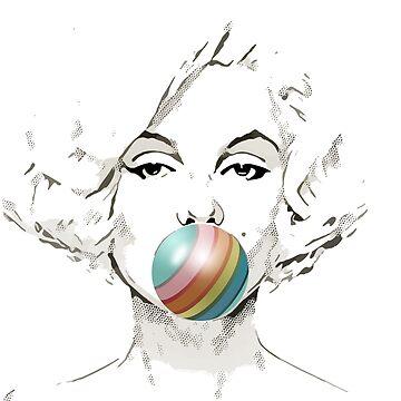 Rainbow Bubblegum by bespired