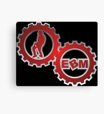 EBM logo Canvas Print