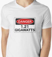 1.21 Gigawatts Men's V-Neck T-Shirt