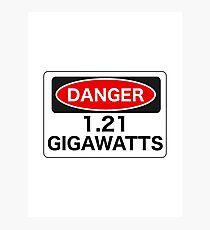 1.21 Gigawatts Photographic Print