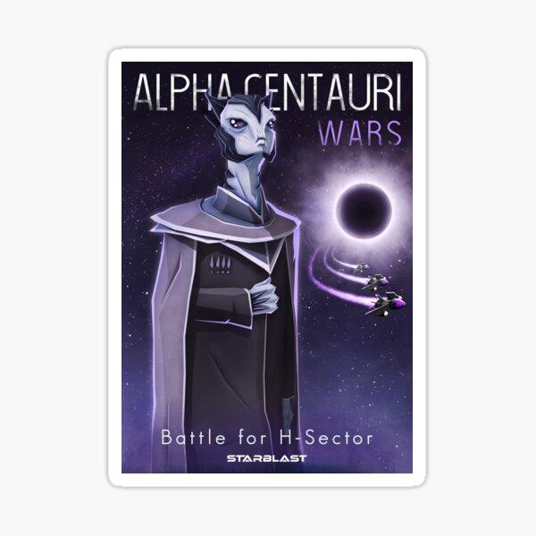 Alpha Centauri Wars - Bataille pour le secteur H Sticker