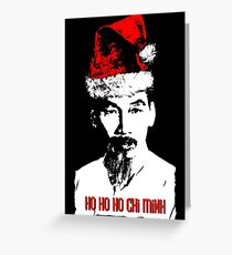 Ho Ho Ho Chi Minh Greeting Card