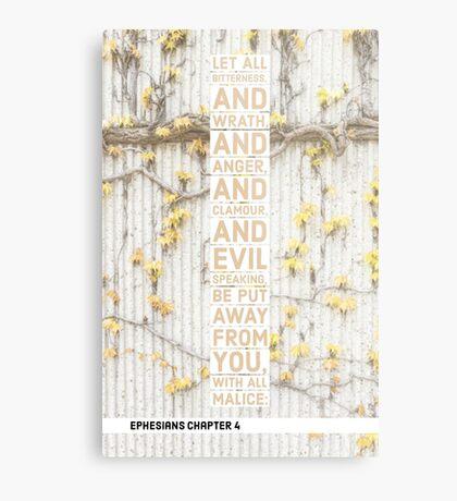 Ephesians chapter 4 Metal Print