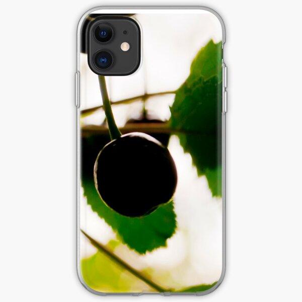 Wild Cherries (Prunus avium) iPhone Soft Case