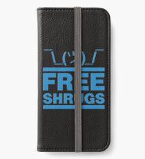 Free Shrug iPhone Wallet/Case/Skin