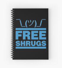Free Shrug Spiral Notebook