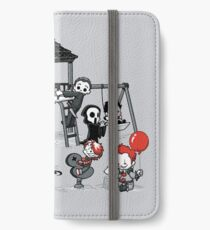 Horrorpark iPhone Flip-Case/Hülle/Skin