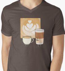 Latte art Men's V-Neck T-Shirt