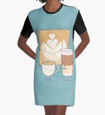 Latte art Robe t-shirt