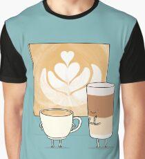 Latte art Graphic T-Shirt