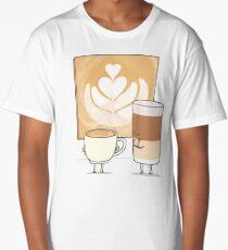 Latte art Long T-Shirt